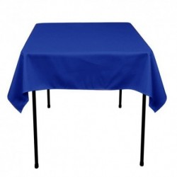 "Square Tablecloth 42""x 42""  Polyester. multiple colors available."