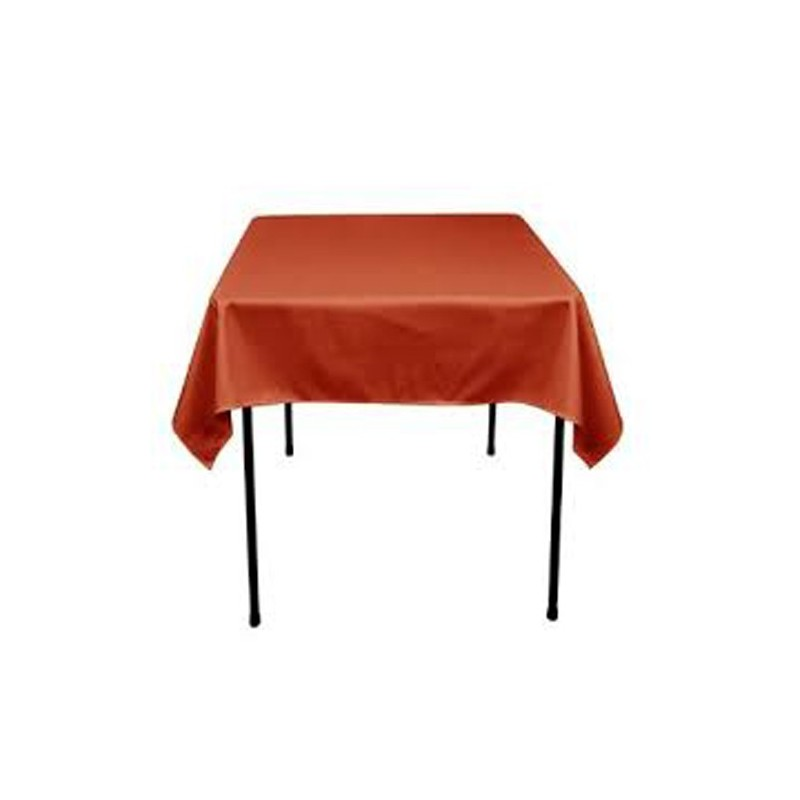 square tablecloth 42x42 polyester