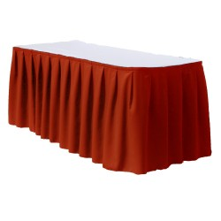 Table Skirt 17' Polyester