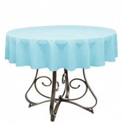 "Round Tablecloth 36"" Polyester  (More 40 Colors Available)"