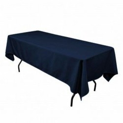 Rectangular Tablecloth 45x90 Polyester Available multiple colors