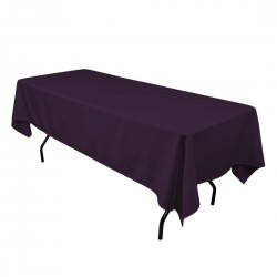 Rectangular Tablecloth 54x120 Polyester Available multiple colors