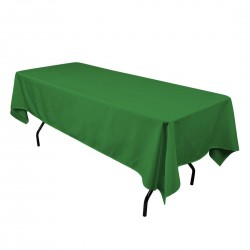 Rectangular Tablecloth 58x72 Polyester Available multiple colors