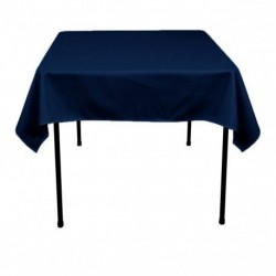 "Square Tablecloth 72""x72""  Polyester. multiple colors available."