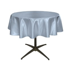 "Round Tablecloth 30"" Satin  (More 30 Colors Available)"
