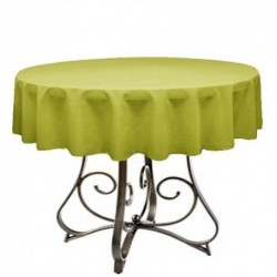 "Round Tablecloth 30"" Polyester  (More 40 Colors Available)"