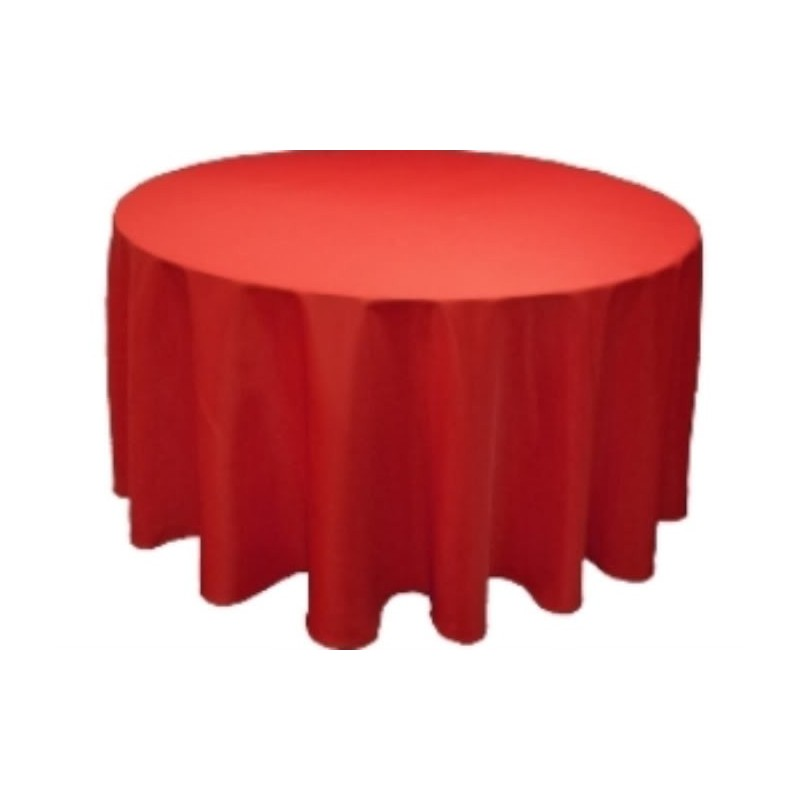 Round Tablecloth 90 Quot Polyester More 40 Colors Available