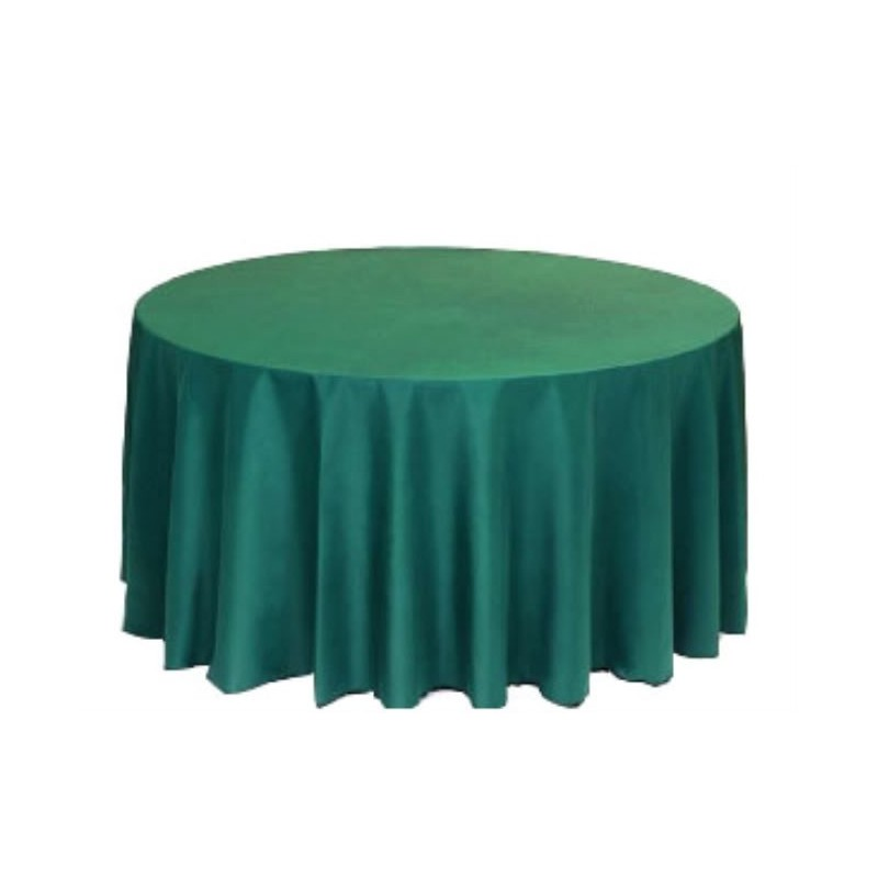 Round tablecloth 108 polyester more 40 colors available for 108 round table cloth