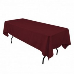 Rectangular Tablecloth 60x120 Polyester Available multiple colors