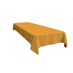 Rectangular Tablecloth 54x72 Polyester Available multiple colors