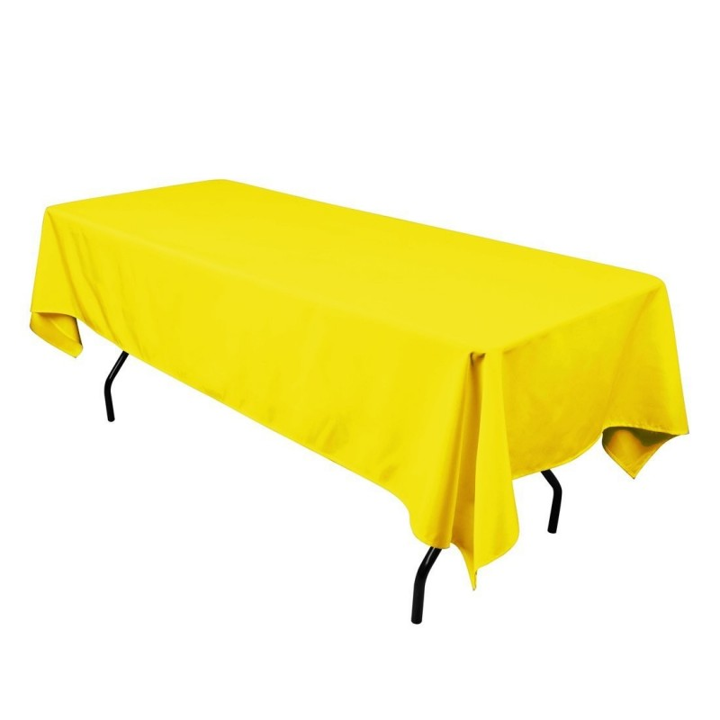 ... Rectangular Tablecloth 54x72 Polyester Available Multiple Colors ...